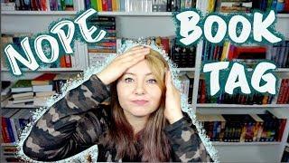 NOPE BOOK TAG.. czyli czego nie lubię w książkach