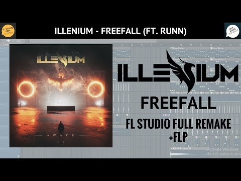 Illenium - Free Fall (Ft. Runn) [FL STUDIO FULL REMAKE] +FLP