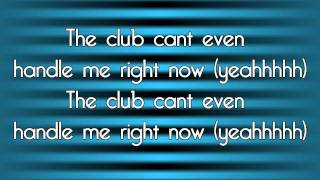 Club Can 39 t Handle Me Flo Rida ft David Guetta Lyrics on Screen Download