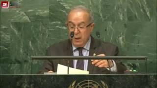 كلمة وزير الشؤون الخارجية رمطان لعمامرة أمام الجمعية العامة للأمم المتحدة بنيويورك