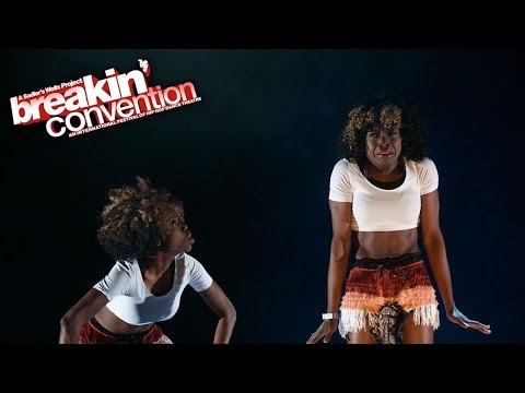 G.O.P. Dancers: What's In The Bag? at Breakin' Convention 2015 [Azonto / N'dombolo / Afro Funk]