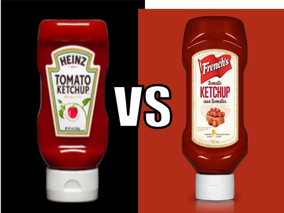 Ketchup Challenge Heinz Vs French S Vs No Name Youtube