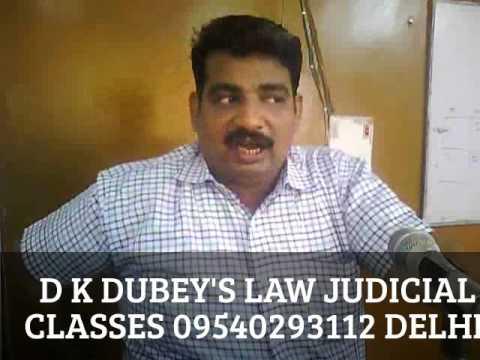 CPC  PART 1  ( BASIC ) BY D K DUBEY DELHI LAW COACHING
