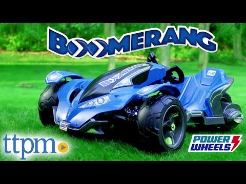 Power Wheels Boomerang From Fisher-Price