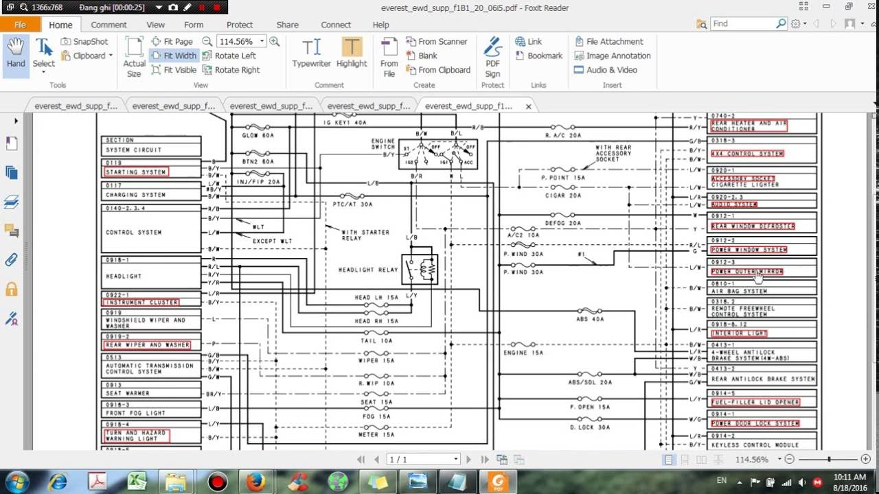 ford everest wiring diagram update 201 dhtauto com [ 1280 x 720 Pixel ]