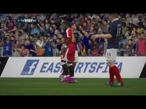 France Belgique 1/2 finale Fvpa E-Sport International Cup (temps reglementaire)