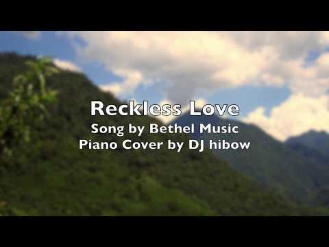 Reckless Love - Bethel Music | Piano Cover Karaoke Version