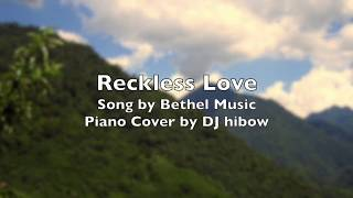 Reckless Love - Bethel Music | Piano Cover Karaoke Version