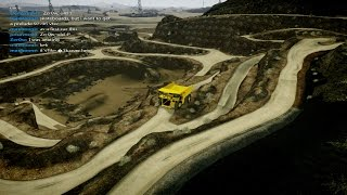 GTA 5 PC IV Map mod online Mine + Biggest dumptruck in the world Caterpillar 797
