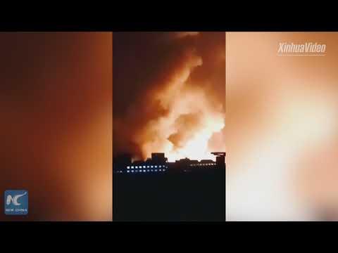 Blast near chemical plant kills 22, injures 22 in north China