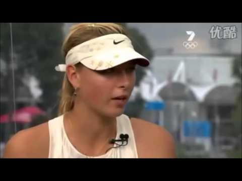 Maria Sharapova Interview After 2008 Aus Open Title Win