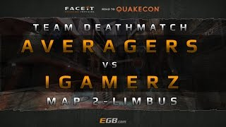 Averagers vs iGamerz - TDM - Map 2 (Road to Quakecon 2015)