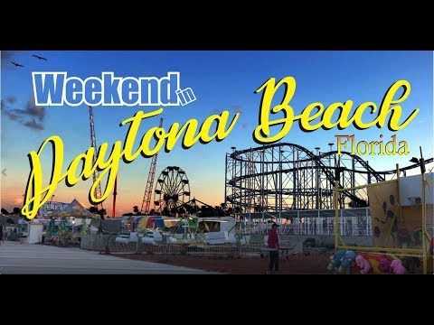 Daytona Beach, Florida Weekend Gateway - Best of Florida Travel-Vacation Vlog