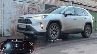 Как гребет Toyota RAV4 с новым полным приводом?