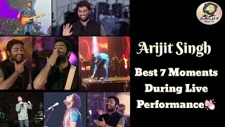 Arijit Singh | 7 Best Moments During Live Performance | Full Video | 2019 | HD