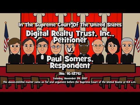 Digital Realty Trust, Inc. v. Somers (SCOTUS-Toons)
