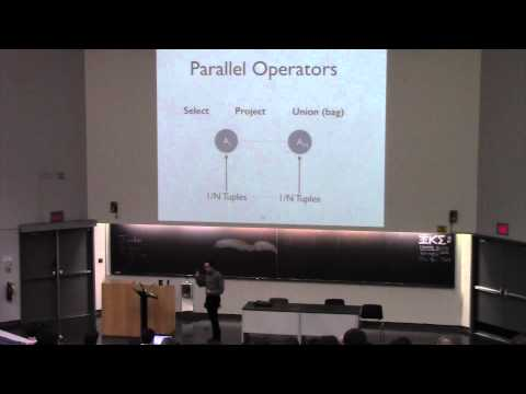 CSE562 Class 20 Parallel Query Operators