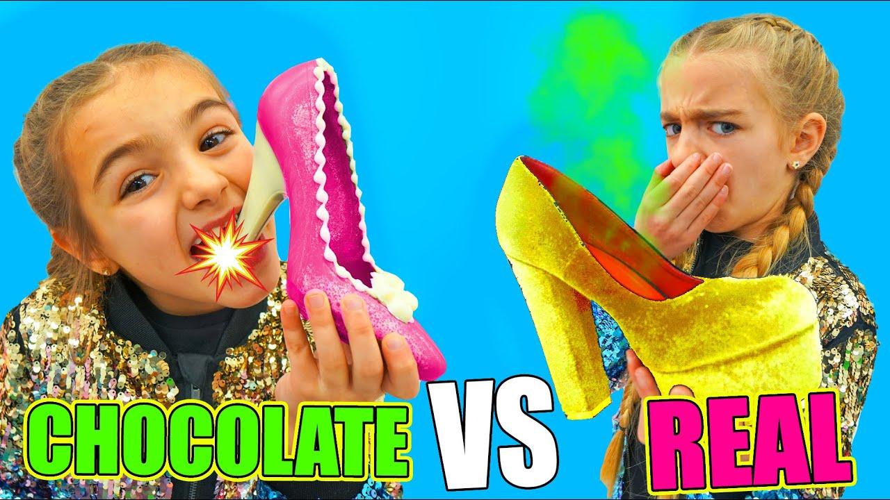 Download REAL VS CHOCOLATE LAS RATITAS Gisele y Claudia