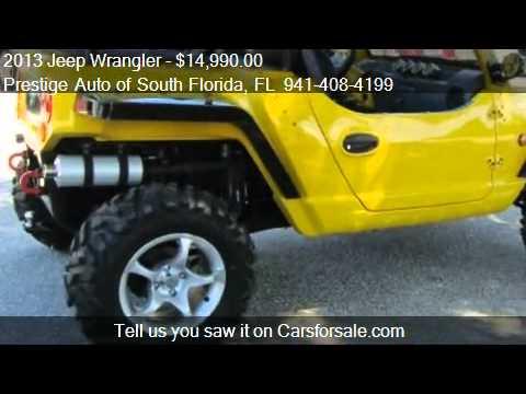 2013 Jeep Wrangler OREION REEPER 4X4 - for sale in Sarasota,