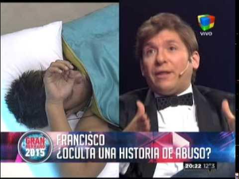 """Francisco: """"Estuvieron cerca de abusar de mí"""""""
