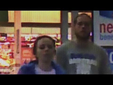 Crime Stoppers: Officials looking for two suspects connected to theft and fraud investigation