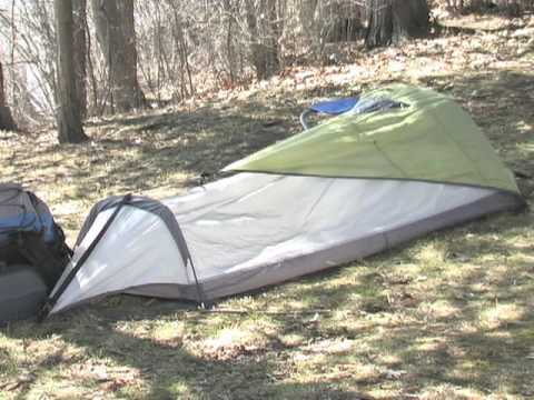 Famous Maker Hiker Single Bivy Tent & Famous Maker Hiker Single Bivy Tent - YouTube