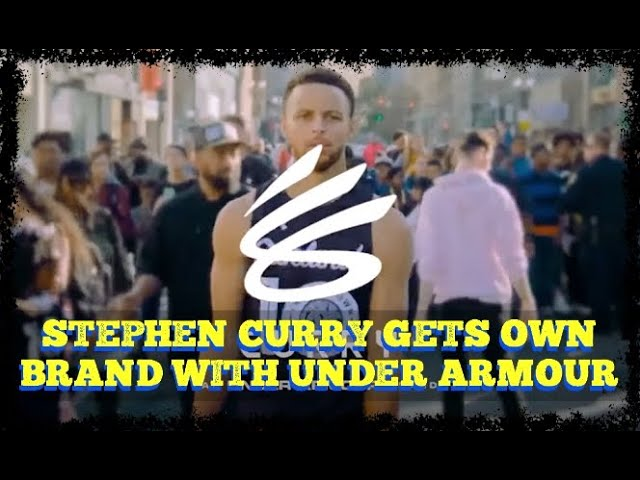 Stephen Curry gets own brand with Under Armour