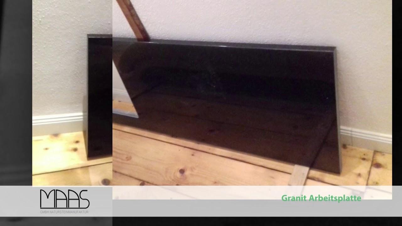 ebersberg star galaxy granit arbeitsplatte youtube. Black Bedroom Furniture Sets. Home Design Ideas