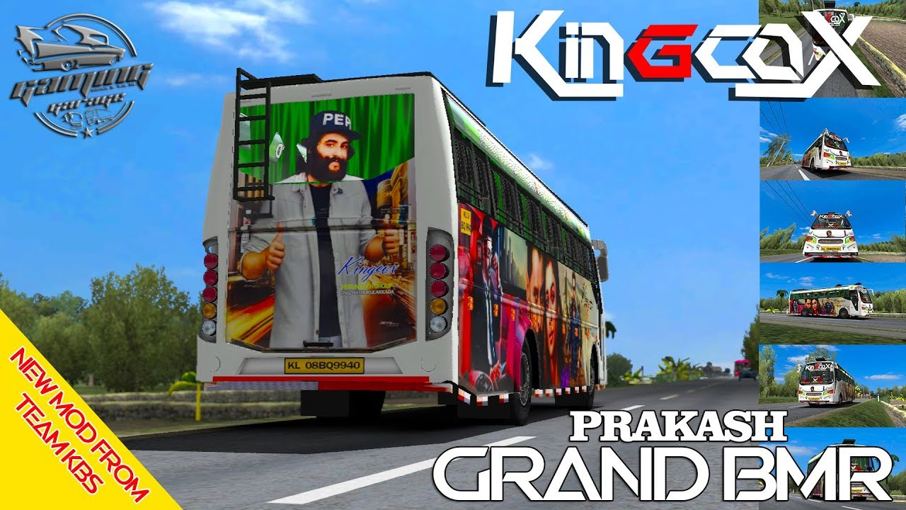All New Prakash BMR Bus Mod From Team KBS With Kingcox