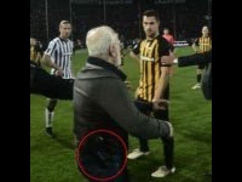 Ivan Savvidis halts Greek Super League clash while carrying gun