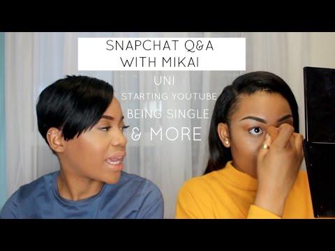 Snapchat Q&A/ GRWM With Mikai McDermott!!! | NISSYTEE
