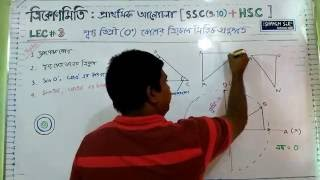 Math Trigonometry  SSC(9,10)  HSC  Basic Lecture-03( in Bangla)