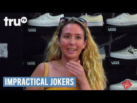 Impractical Jokers: Inside Jokes - Sal's Shoe Fetish | truTV