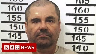 El Chapo: Rare prison video emerges - BBC News