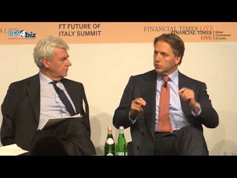 "Keynote Interview ""Maintaining investor confidence in Italy"" at #FTItaly 2013"
