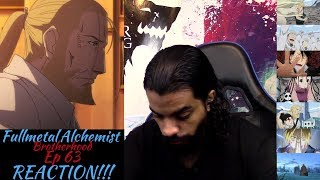 "Fullmetal Alchemist Brotherhood Episode 63 REACTION/REVIEW!!!! ""The Other Side of the Gateway"""