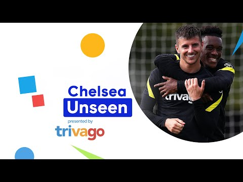 Mason Mount is back in training, Christensen with the backheel rondo mega 🤭 |  Invisible chelsea