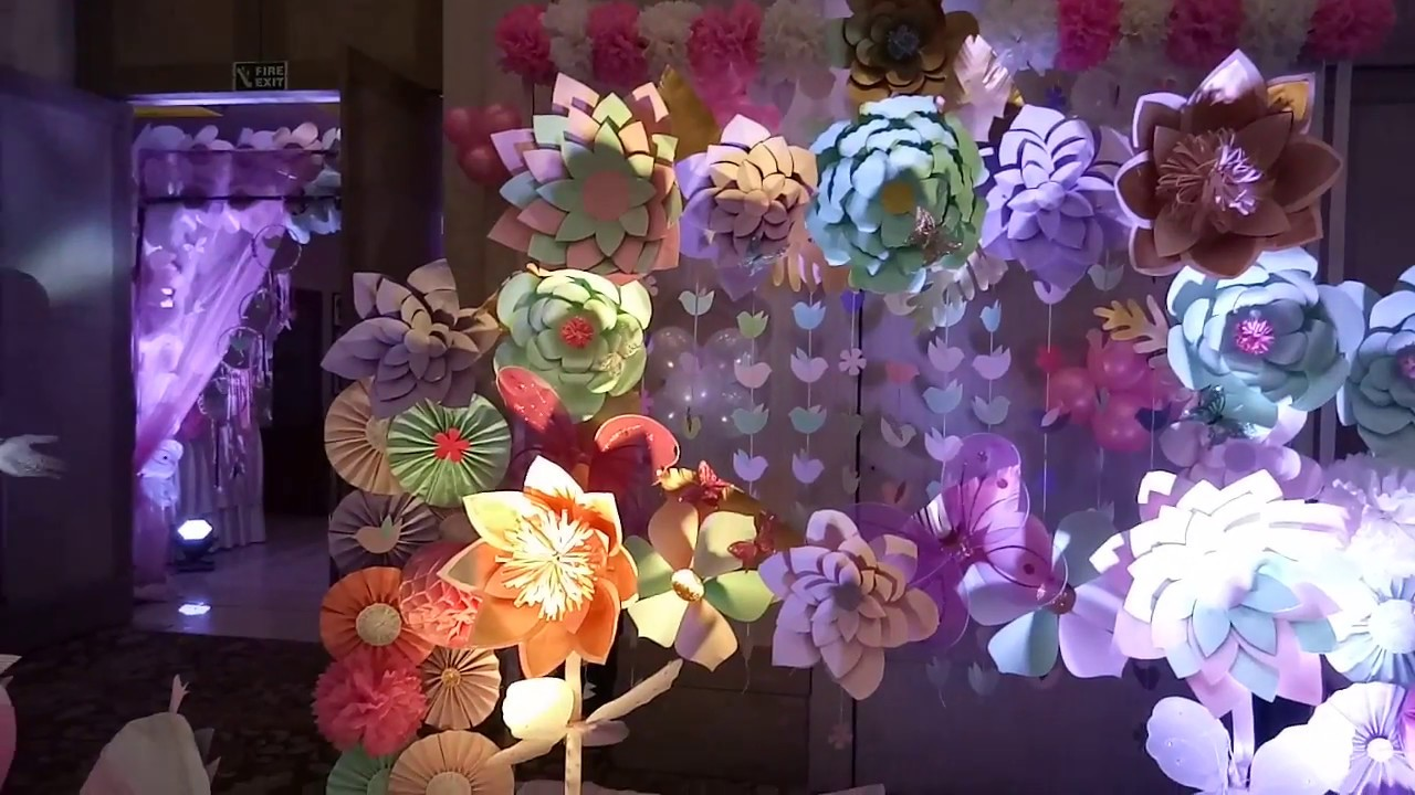 Best of best paper flower decoration for birthday party in this best of best paper flower decoration for birthday party in this world 91 9990908622 izmirmasajfo