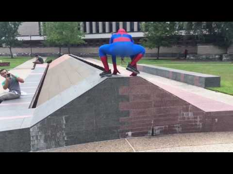 Spiderman attends The University of Houston