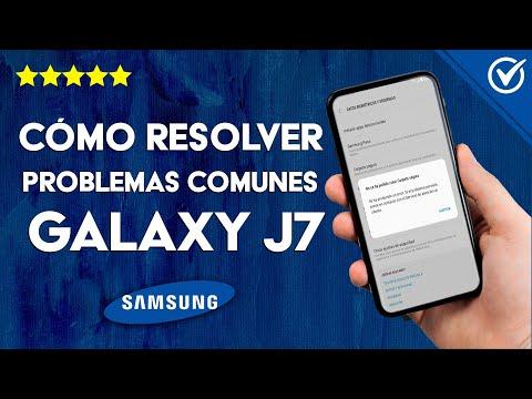 Cómo Resolver los Problemas más Comunes del Samsung J7 Fácilmente
