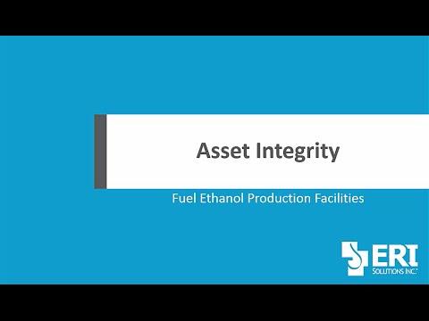 ERI Solutions, Inc    Asset Integrity   Fuel Ethanol Product