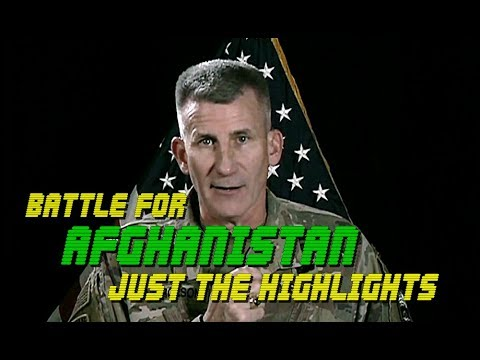 JAGGED KNIFE Bombing Campaign: HIGHLIGHTS From Gen. Nicholson Brief On AFGHAN OPS.