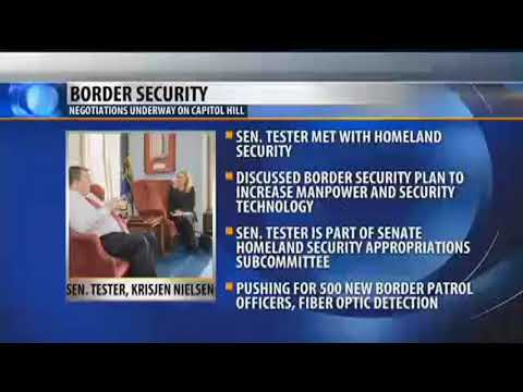Tester working on bipartisan border security deal