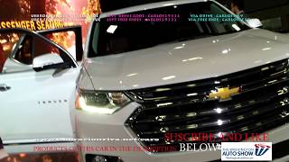 NEW chevy traverse 2019 washington dc auto show 2018