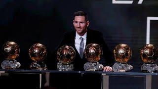 Ballon D'or 2019: Lionel Messi Sacré Pour La 6e Fois, Un Record