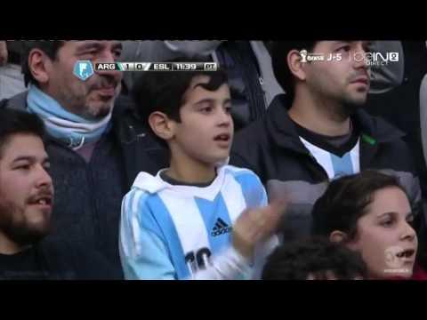 Ricky Álvarez Goal Argentina vs Slovenia 2 0 Friendly Match 2014