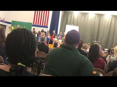 """""""Take Time In Life"""" 3rd Grade performance at blue ash elementary school (MY SISTER)"""