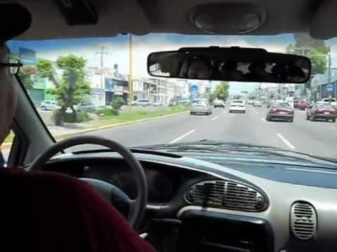 Cruising Through Aguascalientes During The Day