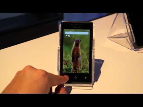 Samsung Omnia 7 First Look