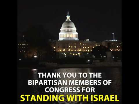 Watch: Overwhelming bipartisan majority of the US House of Representatives just stood with Israel